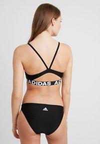adidas Performance - BRANDED SET - Bikini - black - 2