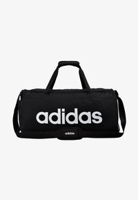 adidas Performance - LIN DUFFLE M - Sports bag - black/white - 6