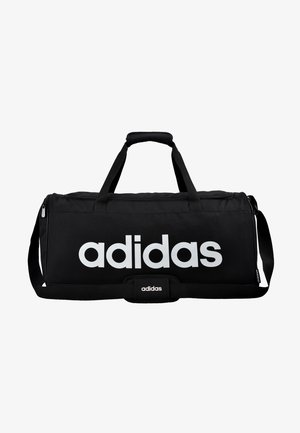 LIN DUFFLE M - Sports bag - black/white