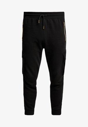 ALPHA JOGGER - Pantaloni sportivi - black
