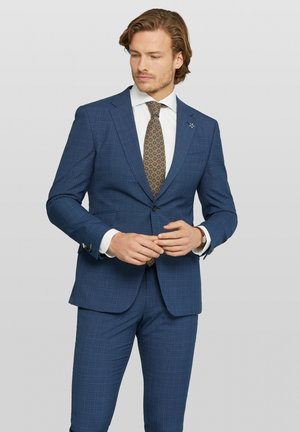 ZENAR SPLIT - Suit jacket - dark blue