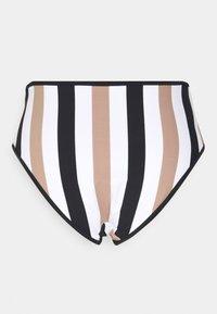 Freya - SAIL HIGH WAIST BRIEF - Bikini bottoms - white/black - 1