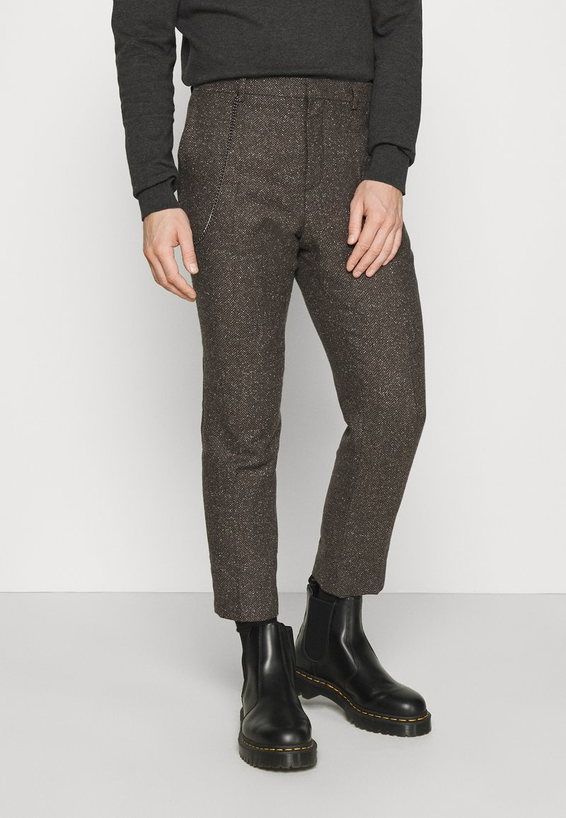 Shelby & Sons - STANLEY TROUSER - Kalhoty - brown