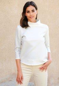 Alba Moda - Long sleeved top - off-white - 6