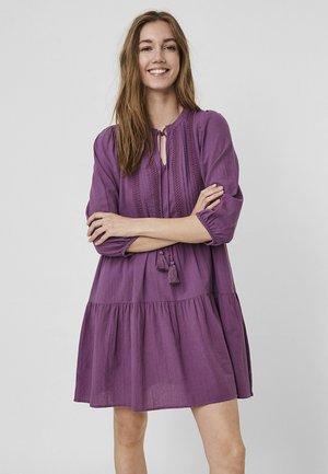 BOHO - Day dress - concord grape