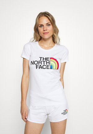 RAINBOW TEE - T-shirts print - white