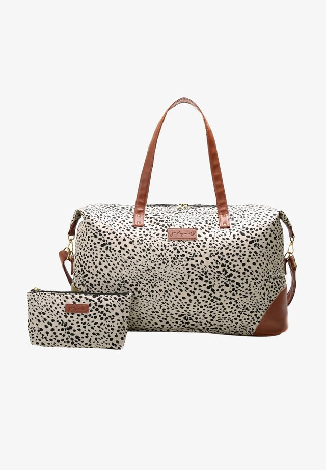 LUNA DUFFEL - Weekendbag - cheetah spot