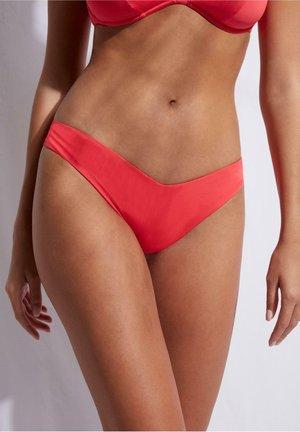 Bikini bottoms - glossy red
