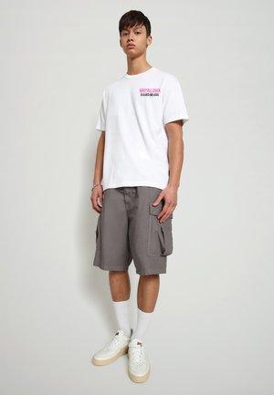 S-ALHOA - Print T-shirt - white graph n