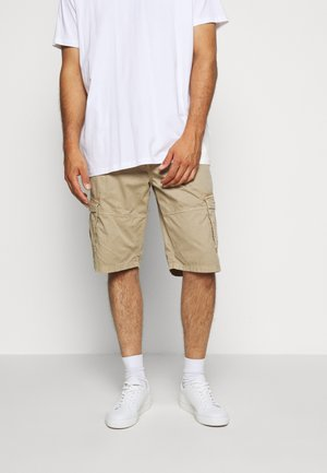 CARGO KNICKERS WITH BELT - Shorts - sand