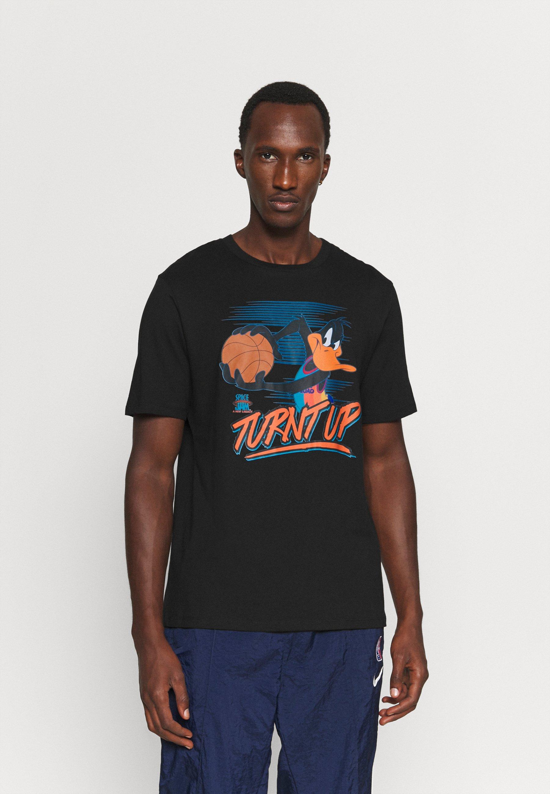 Homme SPACE JAM 2 TURNT UP TRIBLEND TEE - T-shirt imprimé