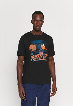 SPACE JAM 2 TURNT UP TRIBLEND TEE - Print T-shirt - black
