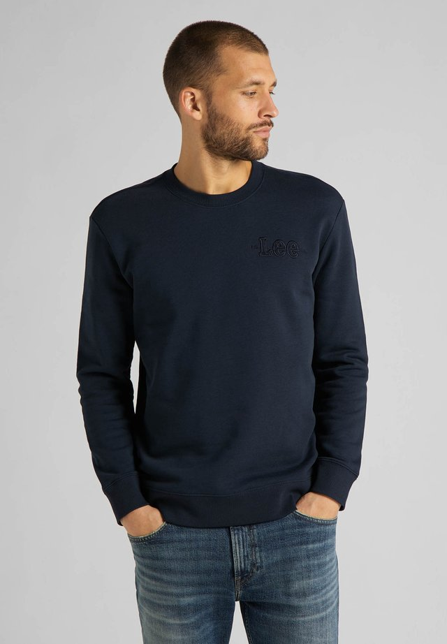 REFINED APPLIQUE  - Sweater - sky captain