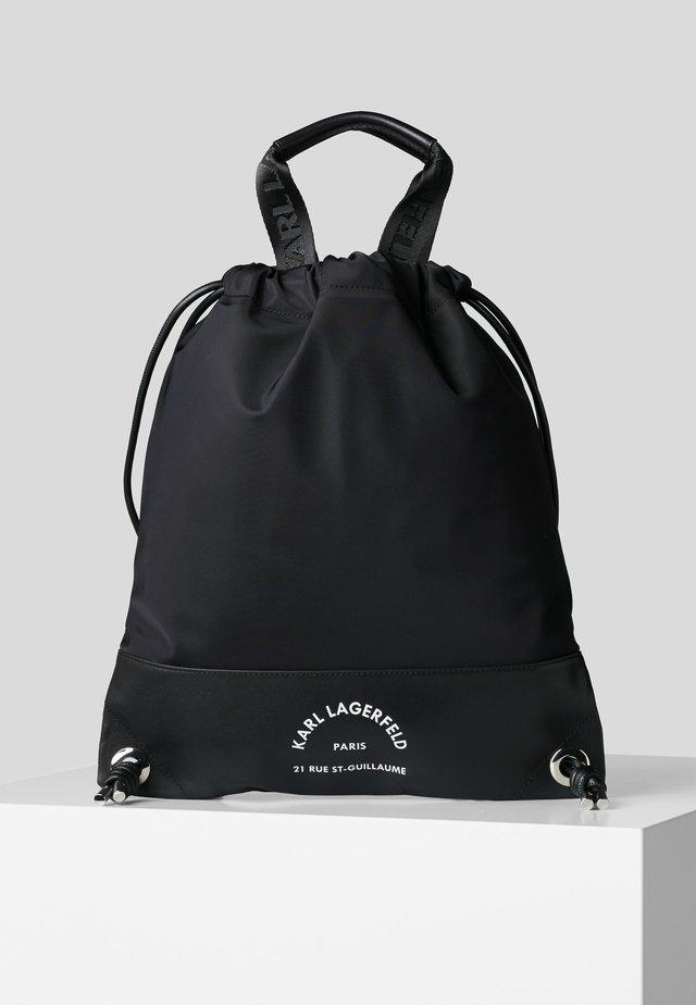 RUE ST GUILLAUME FLAT BP - Reppu - black