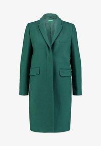 Benetton - CLASSIC TAILORED COAT - Kappa / rock - dark green - 4