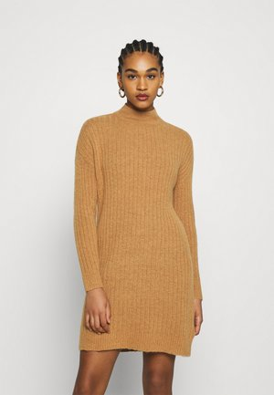 ONLMEKIA DRESS  - Jumper dress - brown melange