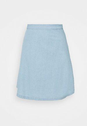 SLFGILLI SKIRT  - Mini skirt - light blue
