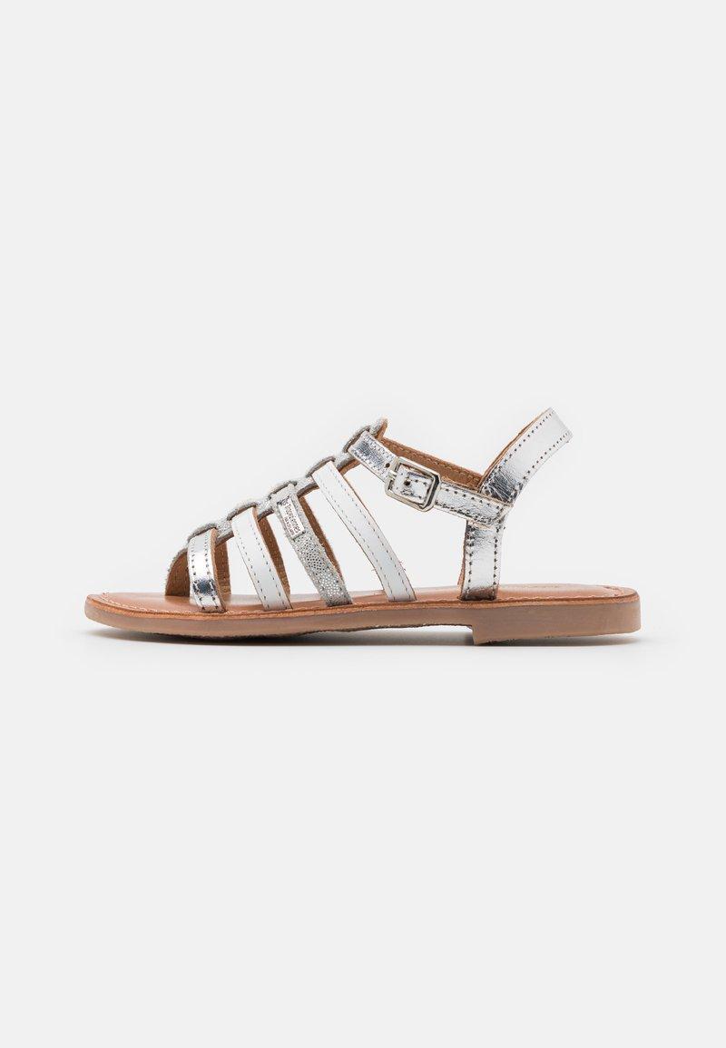 Les Tropéziennes par M Belarbi - HIRSON - T-bar sandals - argent/multicolor