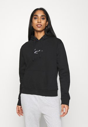 SMALL SIGNATURE HOODIE - Sweatshirt - black