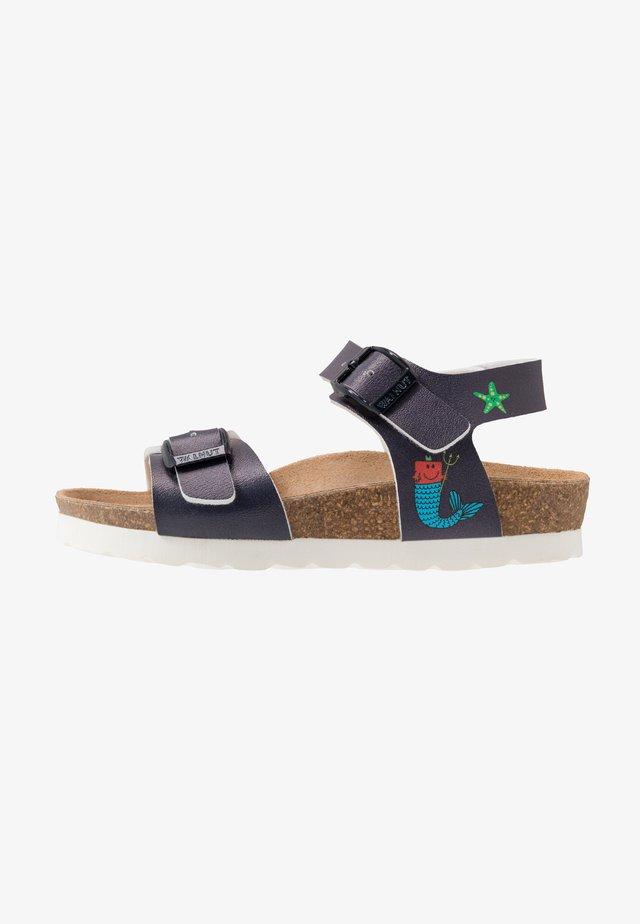 Sandals - dark blue