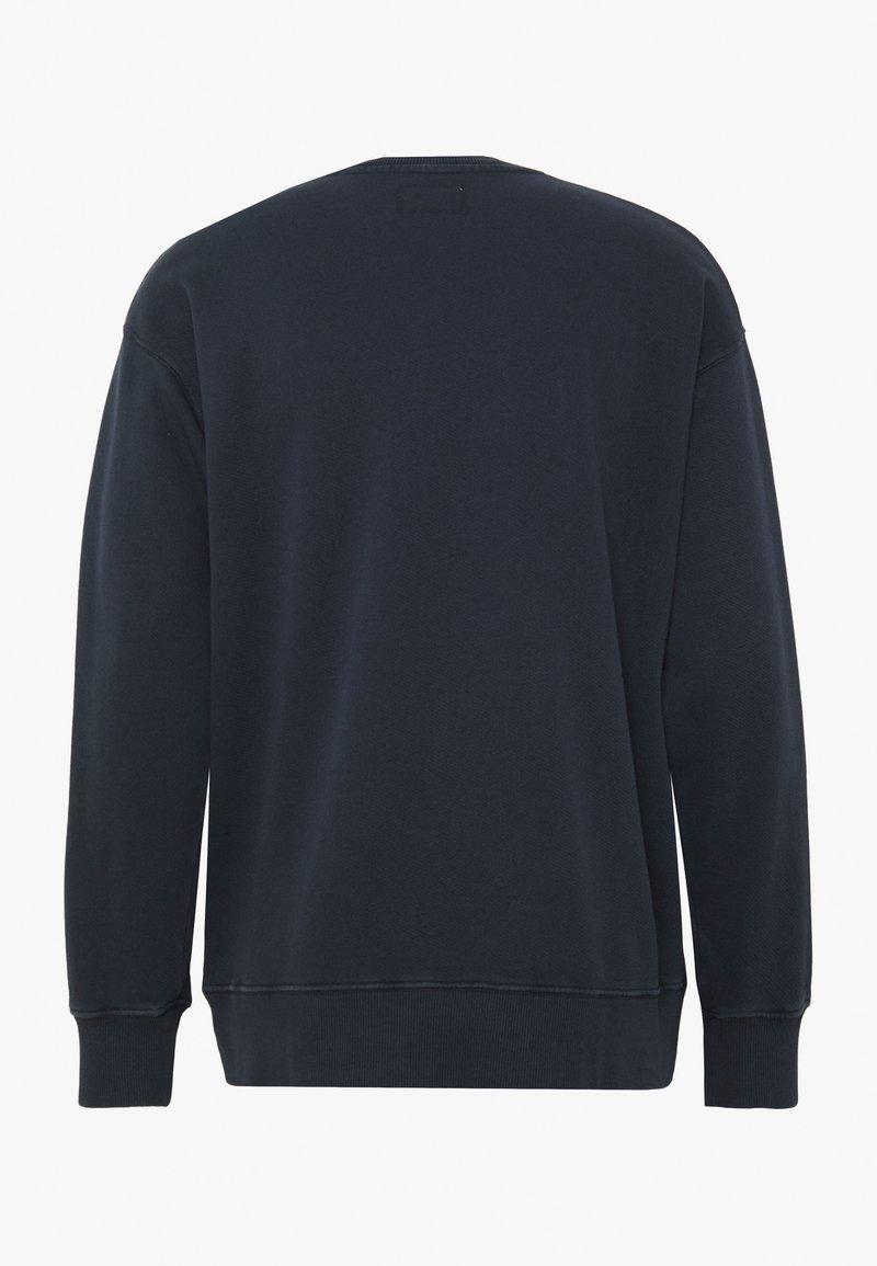 Nudie Jeans LUKAS - Sweatshirt - navy/dunkelblau hAbOGN