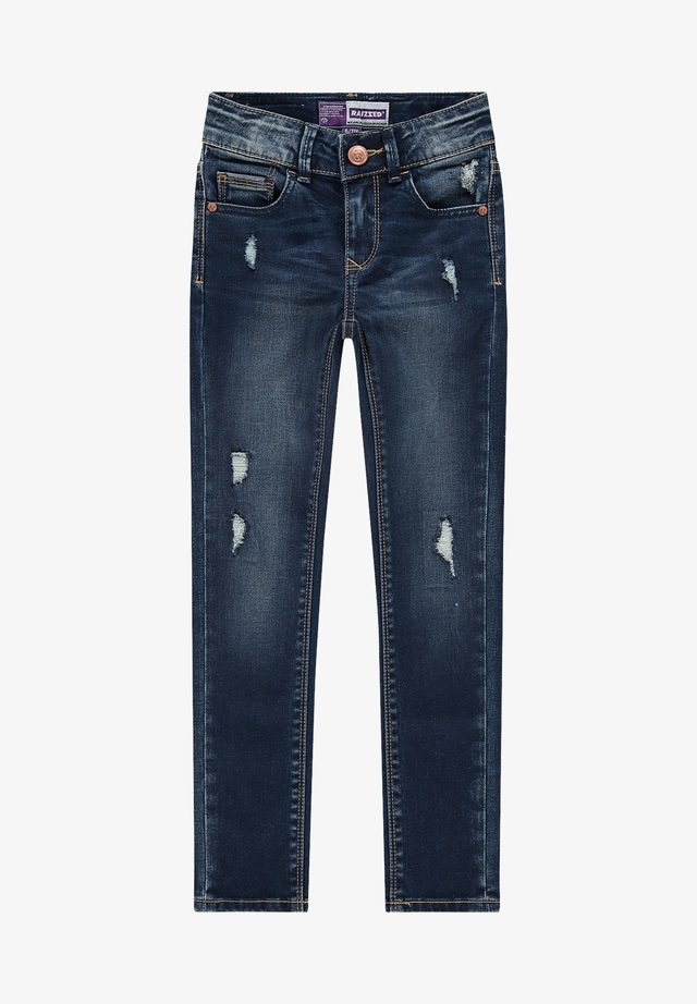 Slim fit jeans - dark blue stone