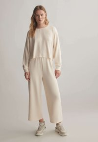 OYSHO - Trousers - white - 1