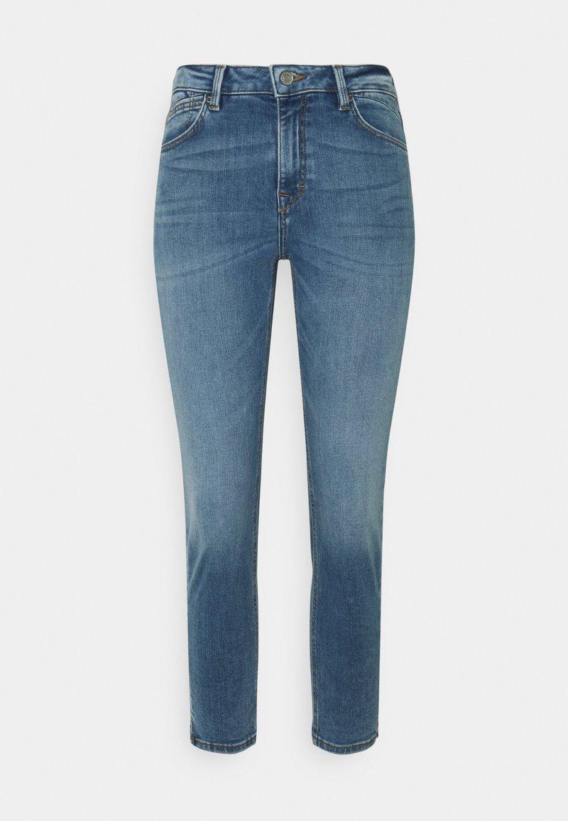 Esprit - MR CAP - Skinny džíny - blue medium wash