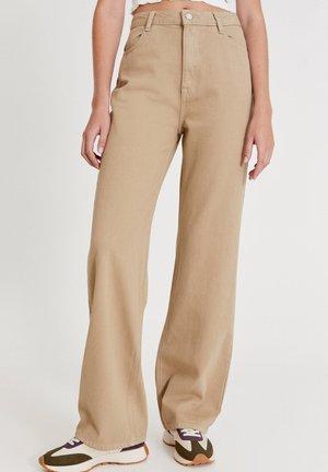 Straight leg -farkut - beige