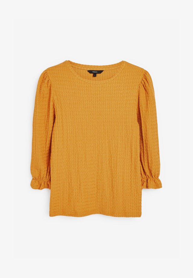 TEXTURED  - Blouse - yellow