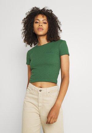 BABY TEE - T-shirts - dark green
