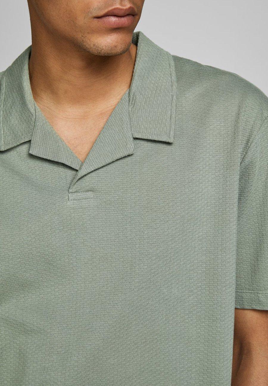 Jack & Jones PREMIUM JPRHAROLD - Polo shirt - agave green eli1z