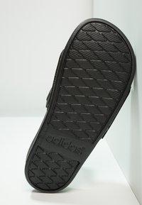 adidas Performance - ADILETTE MONO - Chanclas de baño - core black - 4