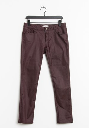 Slim fit jeans - red