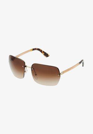Okulary przeciwsłoneczne - gold/brown