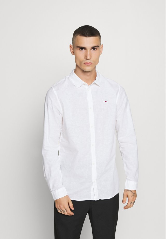 LONGSLEEVE BLEND  - Koszula - white