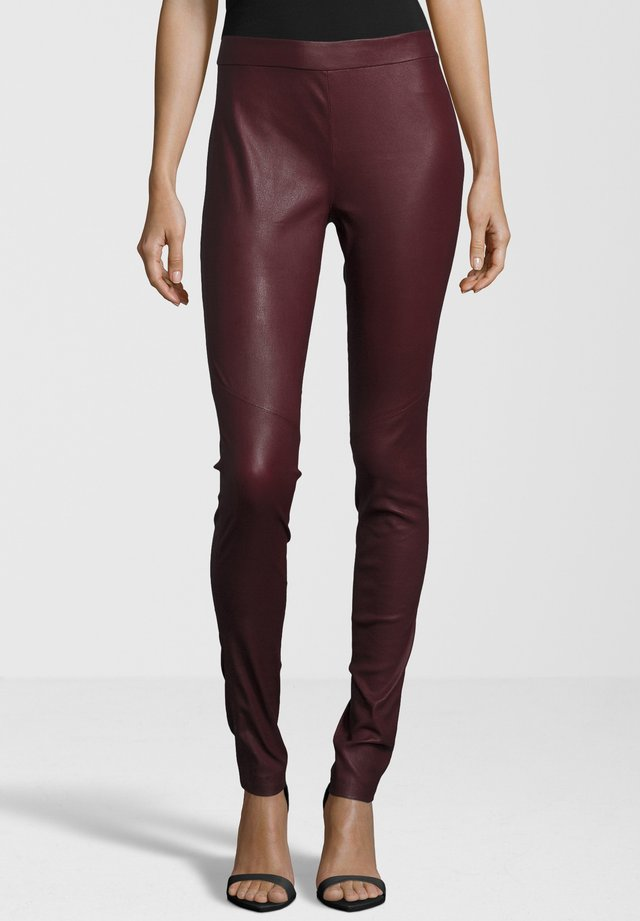 LEDERHOSE G2GALARA SF LNS - Leggings - Trousers - red