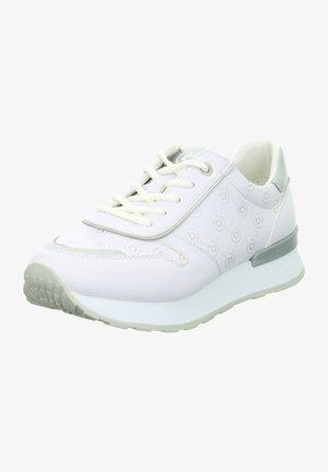 Trainers - weiß-silber
