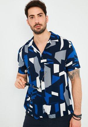Overhemd - saxe blue-navy blue