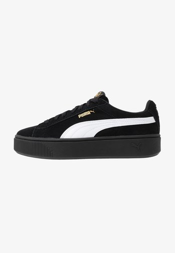 VIKKY STACKED - Trainers - black/white