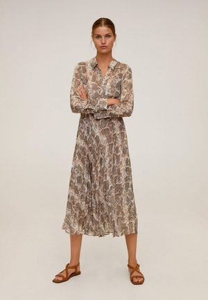 SERPI - Shirt dress - braun