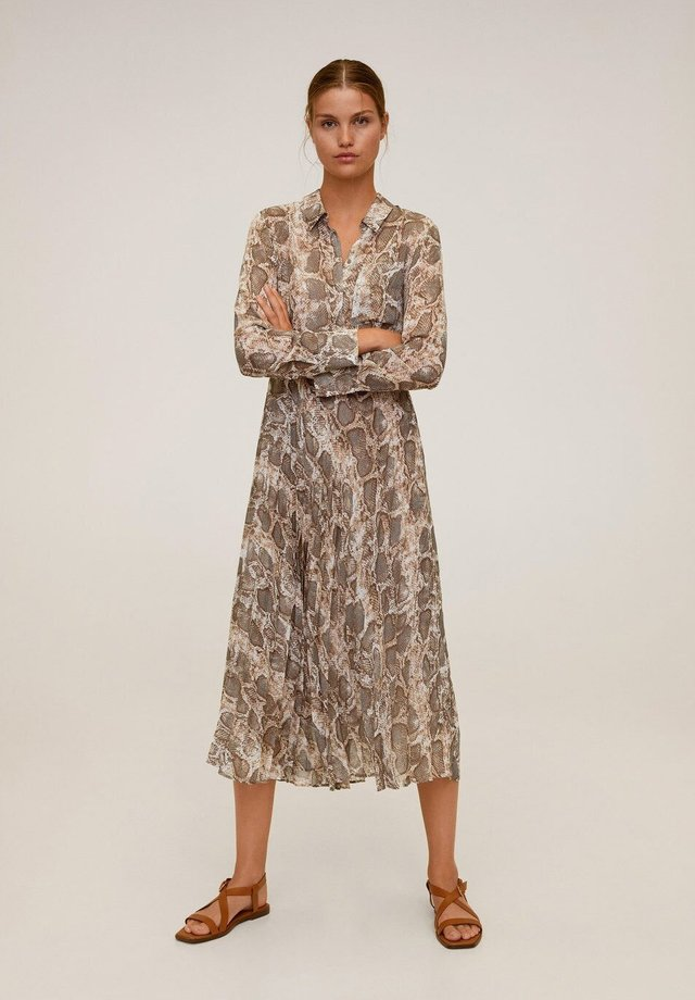 SERPI - Shirt dress - braun