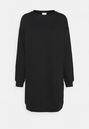 VIRUST O NECK DRESS - Day dress - black