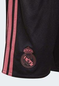 adidas Performance - REAL MADRID AEROREADY MINIKIT - Sports shorts - black - 6