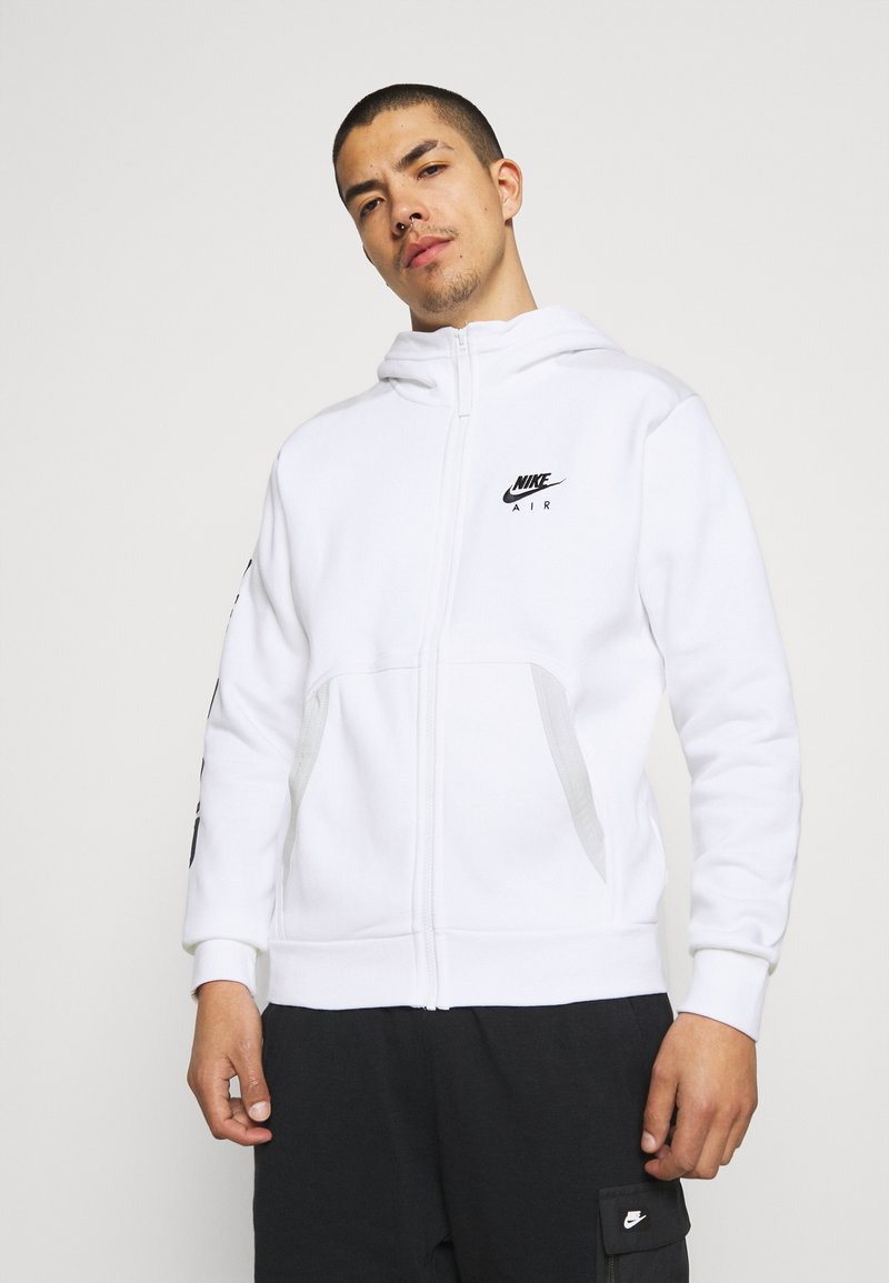 Nike Sportswear - HOODIE - Sweatjacke - white/photon dust/black