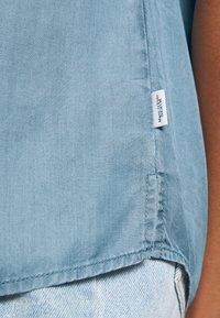 Marc O'Polo DENIM - SHORT SLEEVE STAND COLLAR - Blouse - blue - 6
