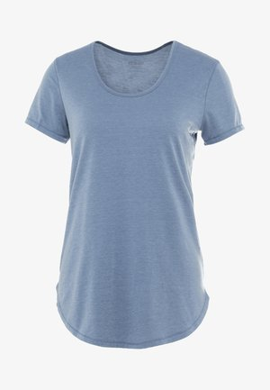 GYM - Basic T-shirt - steel blue