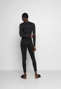 Gina Tricot - YARA LEGGINGS - Pyjama bottoms - black - 2