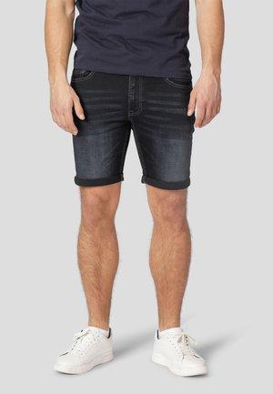 Denim shorts - twilight blue used
