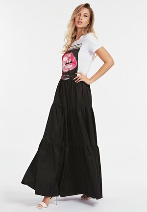 Pleated skirt - zwart